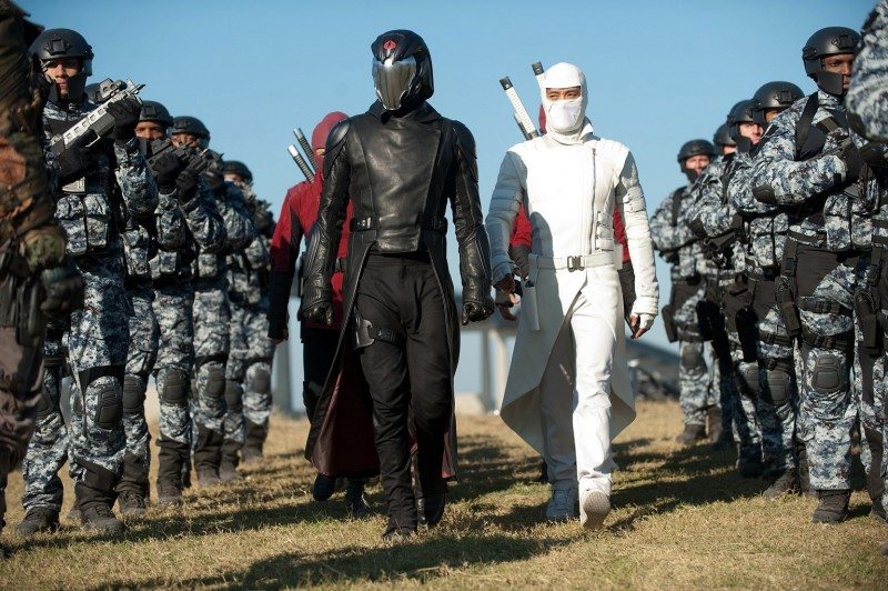 Cobra Commander and Storm Shadow