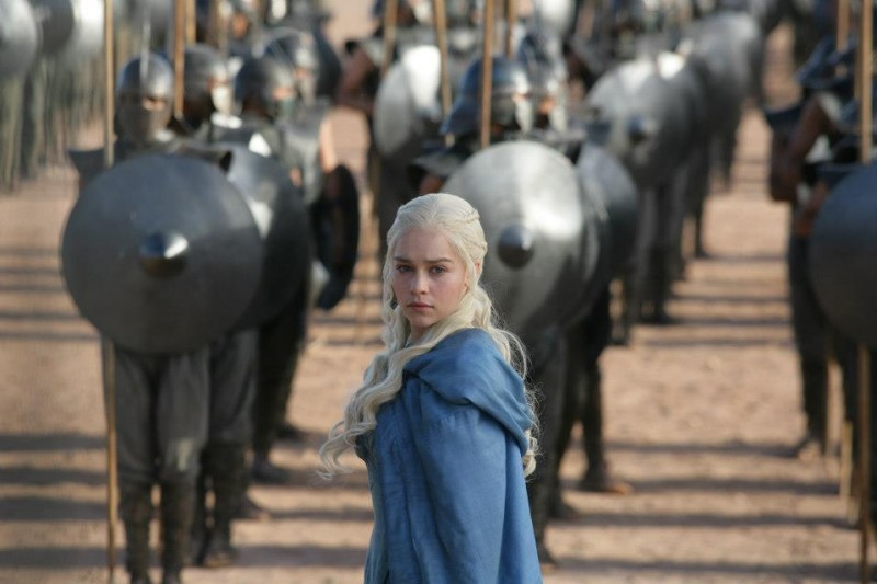 Emilia Clarke as Daenerys Targaryen- photo Keith Bernstein-HBO