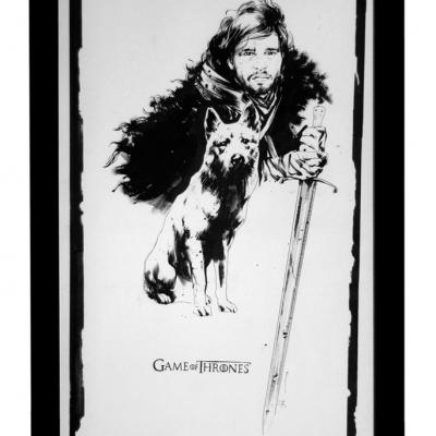 Jon Snow by Jock
