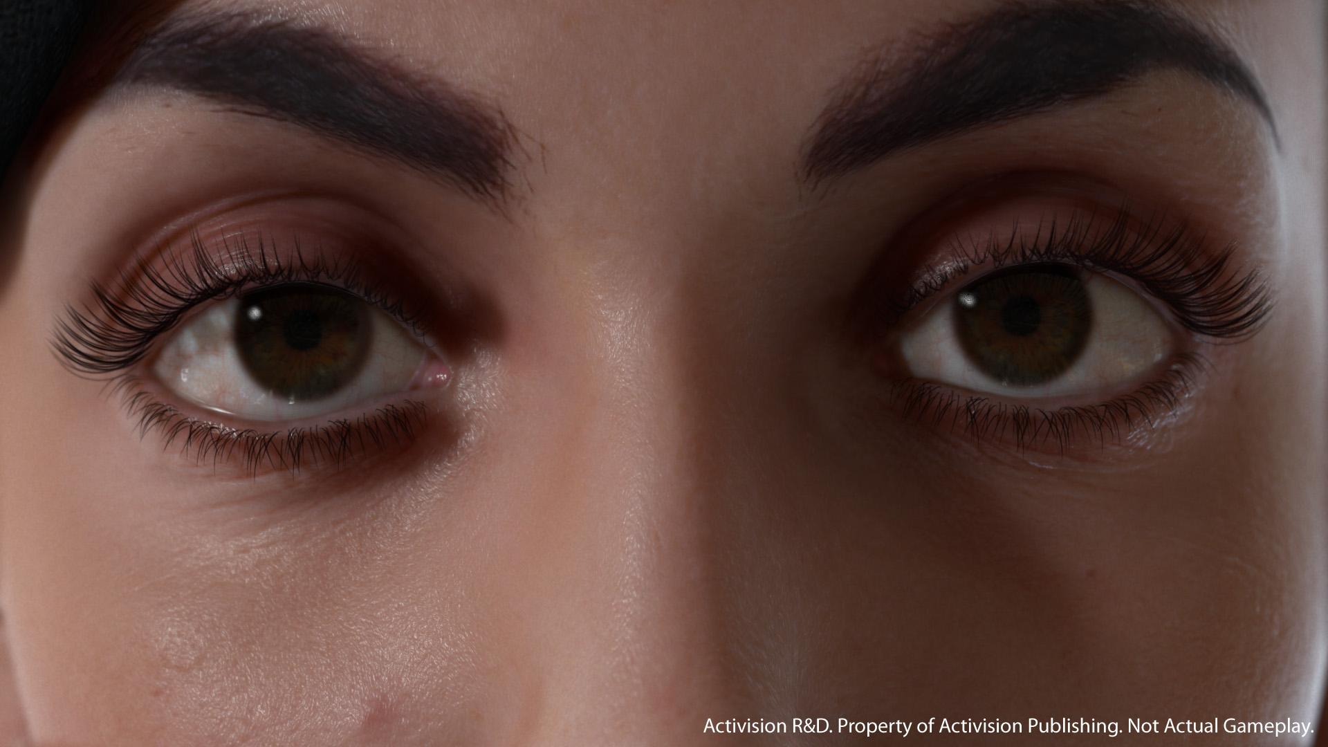 Lauren On Hyper Realistic Eyes