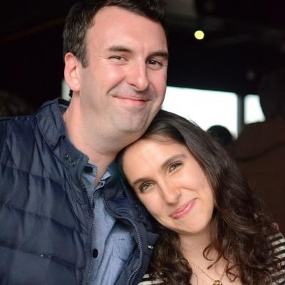 05 Matt Braunger and Megan Amram © Nathan Sanborn, The Superslice™