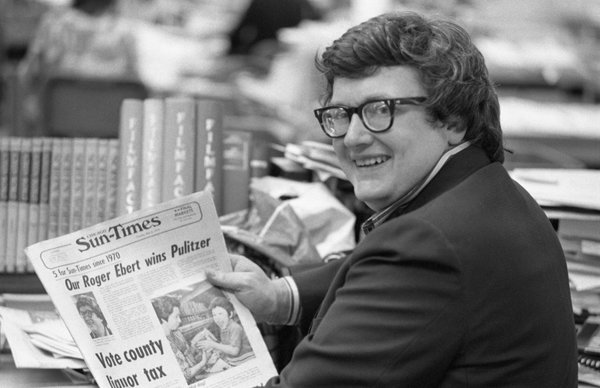 In 1975 Roger Ebert became the first film critic to win the Pulitzer Prize
