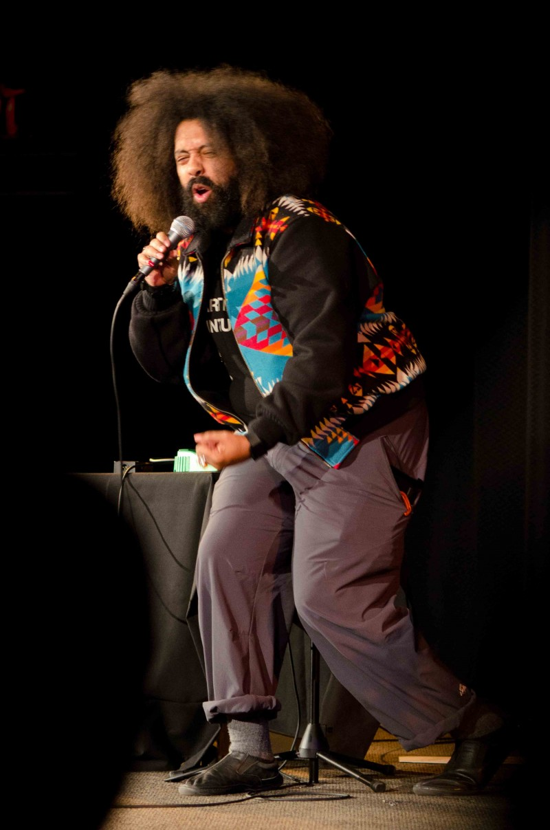 14 Kurt Tub - Reggie Watts © Nathan Sanborn, The Superslice™