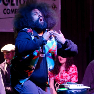 28 Midnight Run - Reggie Watts © Nathan Sanborn, The Superslice™