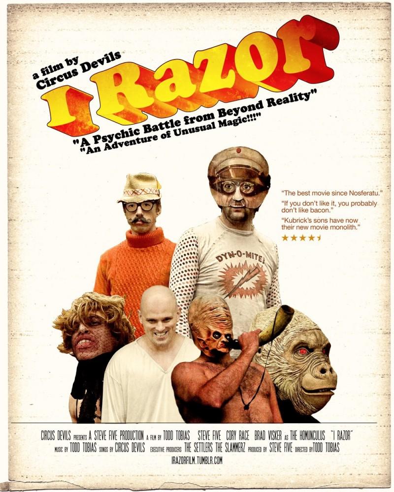I Razor (poster B)