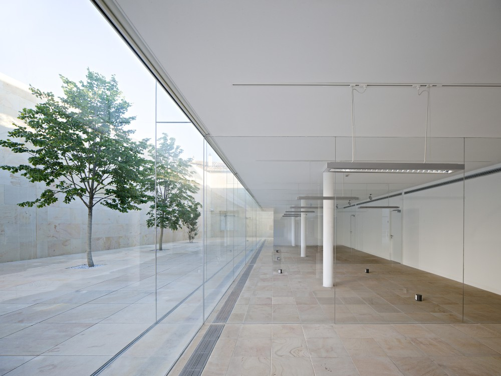 Zamora offices alberto campo baeza the superslice - Campo baeza obras ...