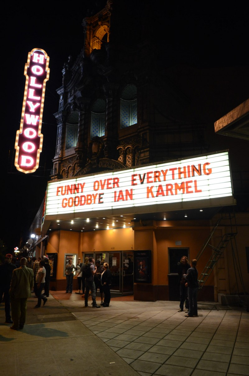 16 Funny Over Everything - The Hollywood Theater marquee
