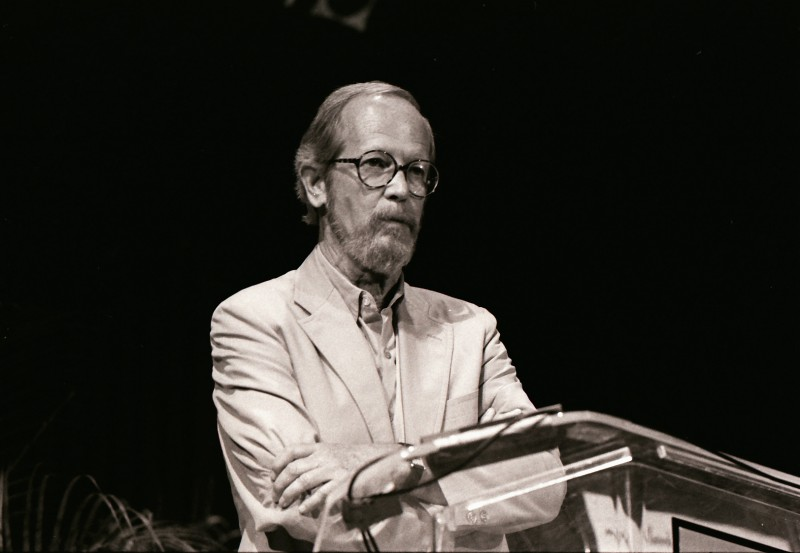 Elmore Leonard, Miami Bookfair International, 1989