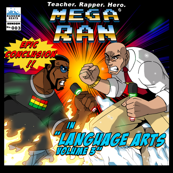 Mega Ran in Language Arts - Volumes 3