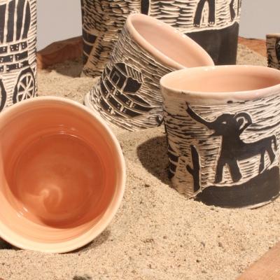 Flying Uke - Daniel George -  pottery
