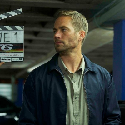 Paul Walker on the set of 'Fast & Furious 6'