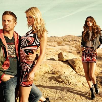 Paul Walker's Fall/Winter 2013 Colcci Campaign (Brazilian clothing line)