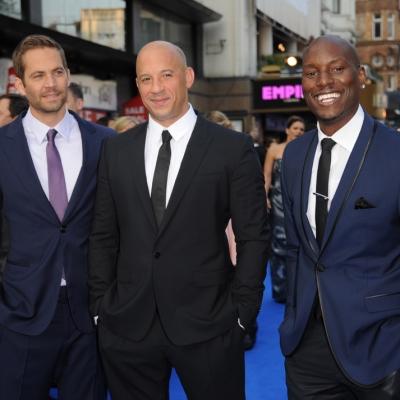 Paul Walker, Vin Diesel, Tyrese Gibson at 'Fast & Furious' 6 Premiere in London