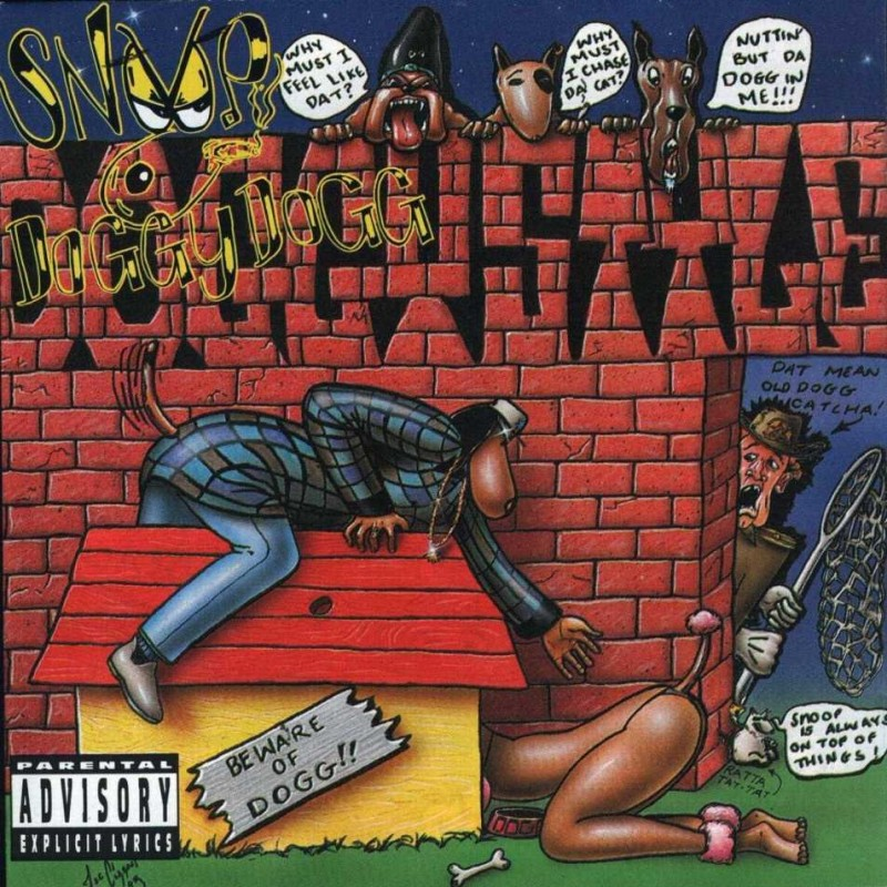 Snoop Dogg - Doggystyle - Front
