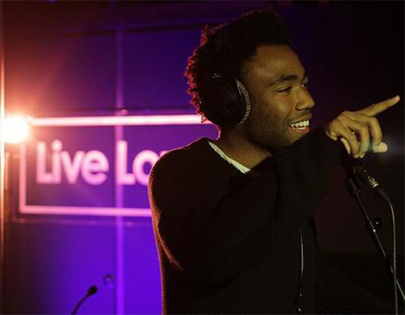 Childish Gambino at BBC's 1Xtra Live Lounge