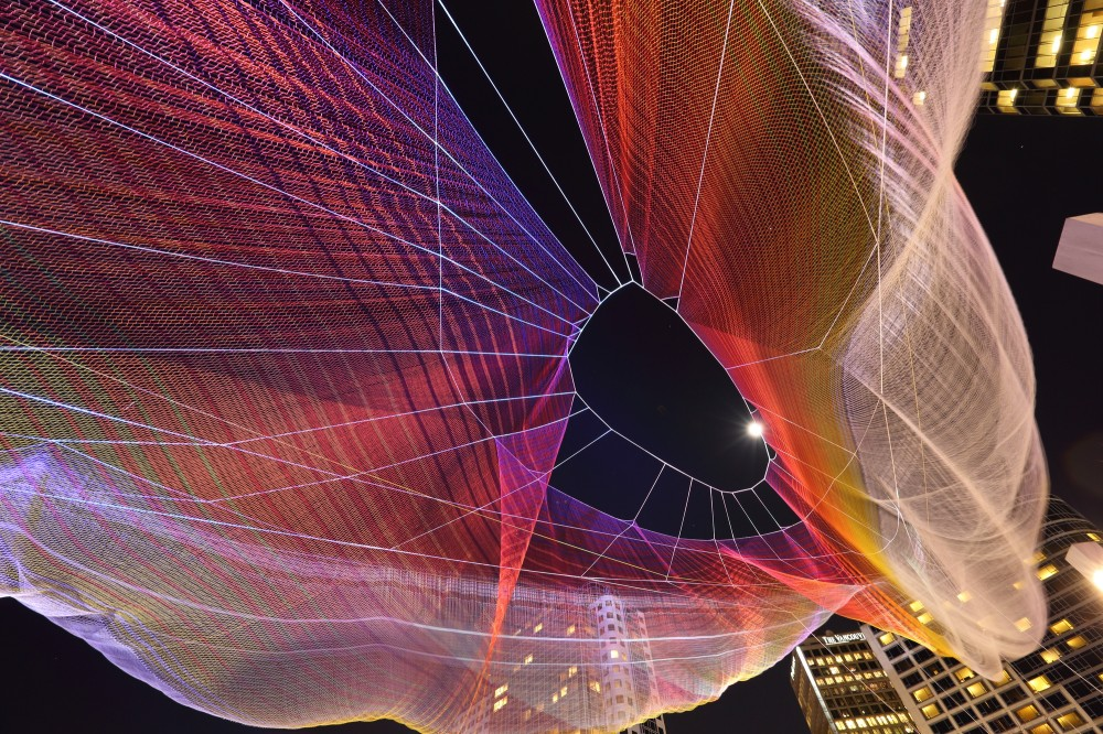 Skies Painted With Unnumbered Sparks Jannet Echelman
