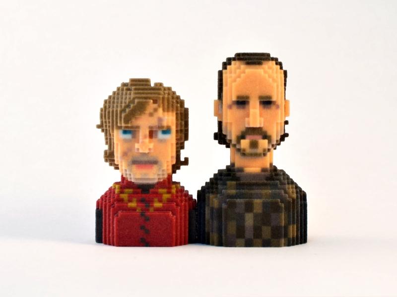 Tyrion and Bron