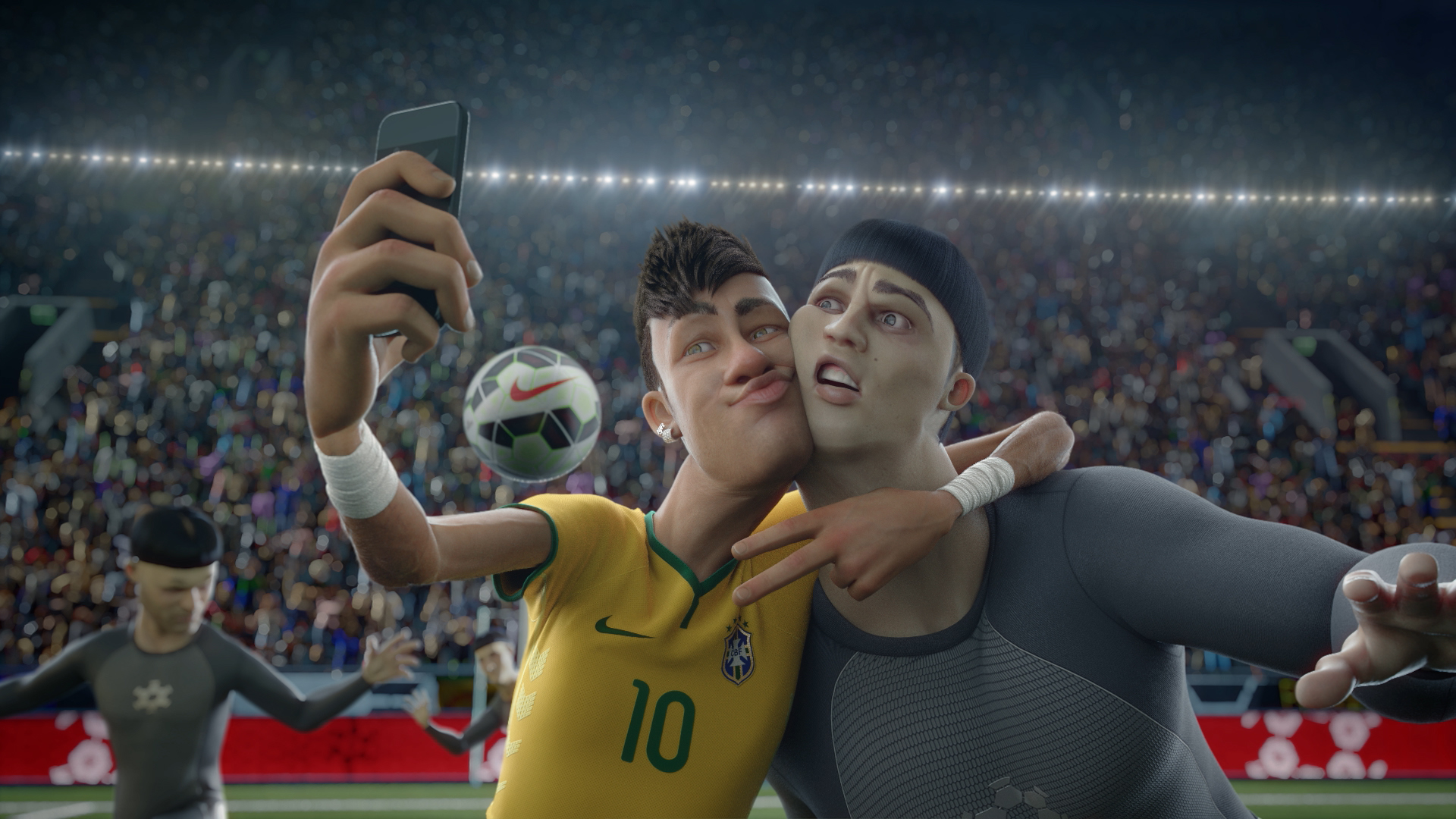 The Last Game Feat Stars Of The World Cup Nike Football