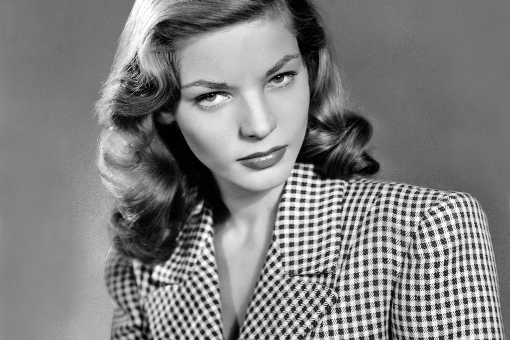 1944 - Lauren Bacall in To Have and Have Not (Warner Brothers)