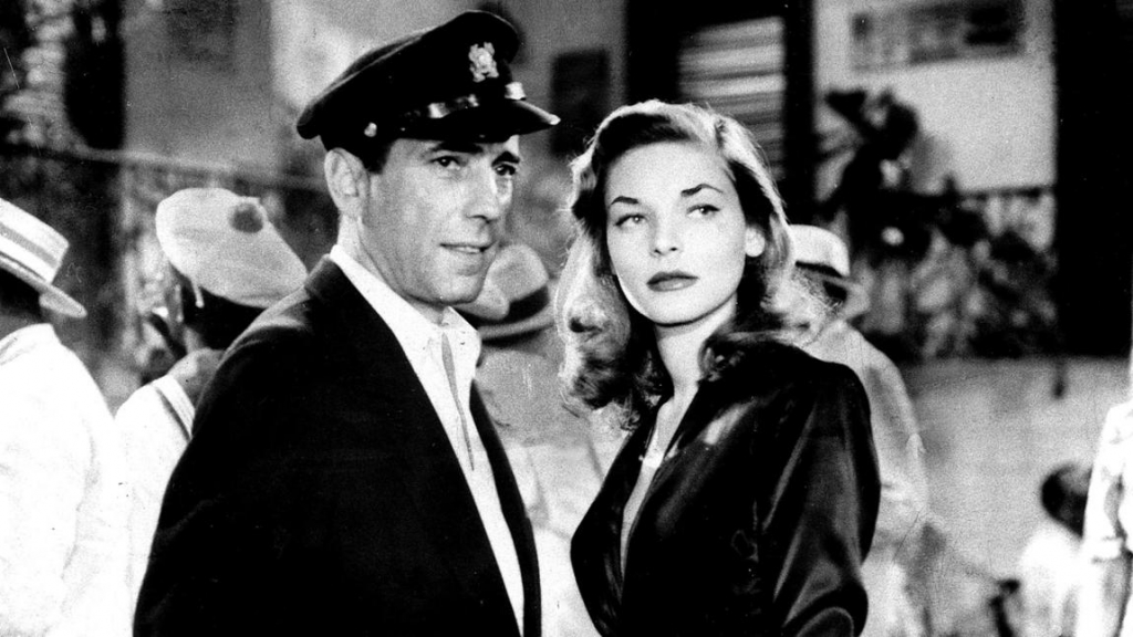 1944 - Lauren Bacall in 'To Have and Have Not' (Warner Brothers)
