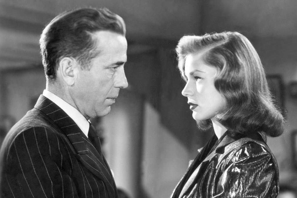 1946 - Lauren Bacall and Humphrey Bogart (CBS)