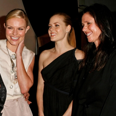 2007 - Bacall, left, Kate Bosworth, Amy Adams, Julie Taymor and Diane Lane attend Elle magazine's Women in Hollywood event (Jeff Vespa)