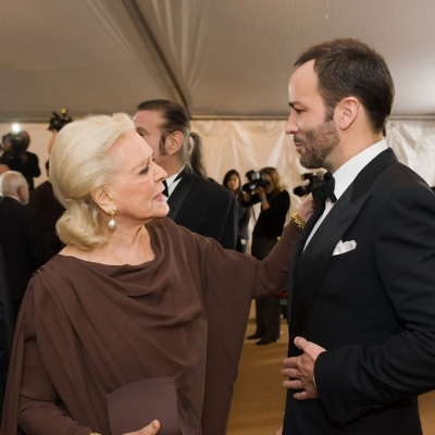 2009 - Lauren Bacall with Tom Ford at Academy Of Motion Picture Arts And Sciences' Governors Awards