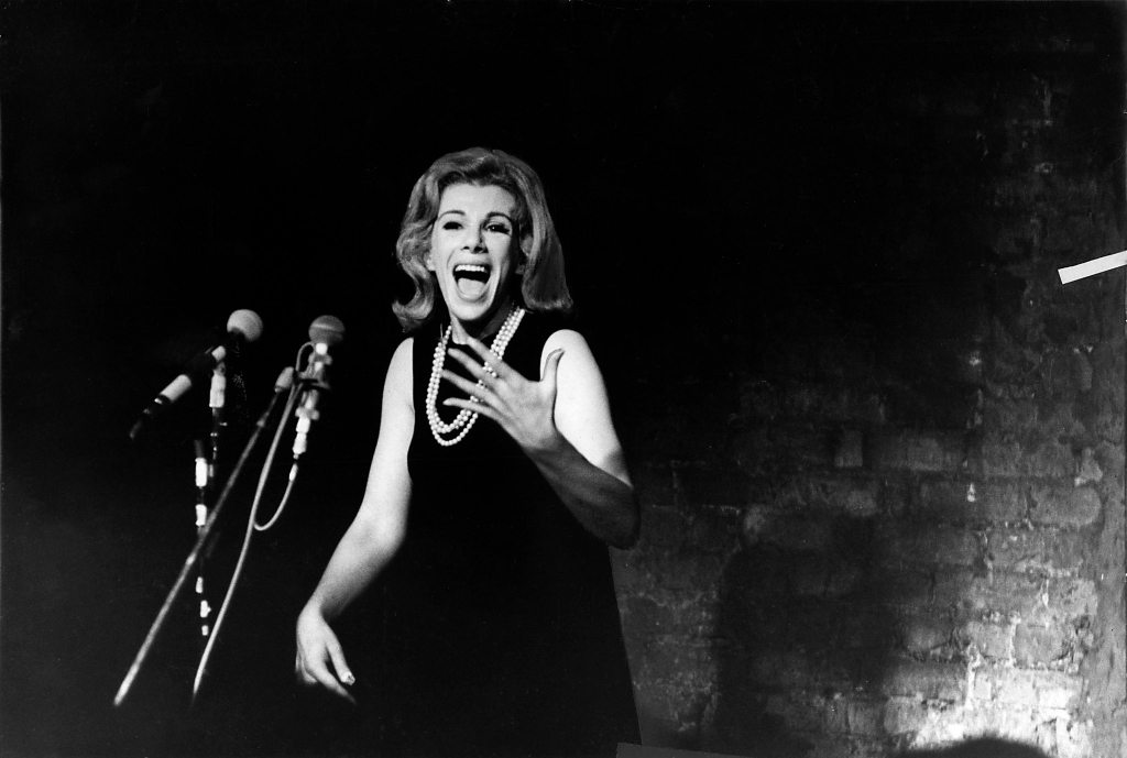 1965 - Joan Rivers performing in Tarrytown (Pix Inc.)