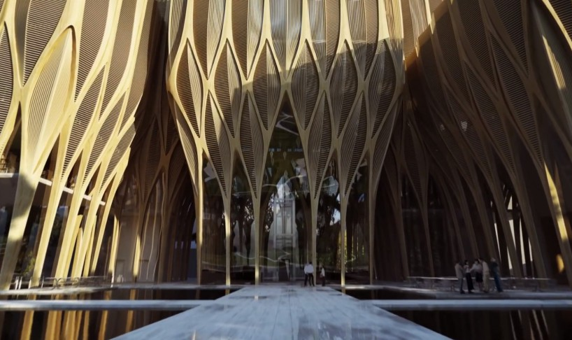 Sleuk Rith Institute Zaha Hadid Architects The Superslice