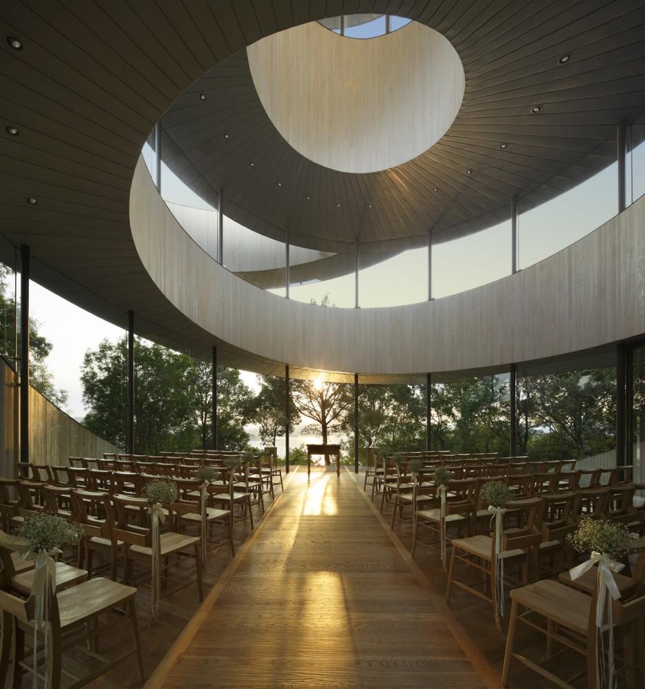 Ribbon Chapel Nap Architects The Superslice
